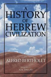 A History of Hebrew Civilization