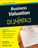 Business Valuation For Dummies PDF