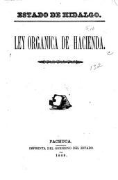 Ley orgánica de hacienda