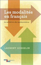 Les modalités en français: la validation des représentations