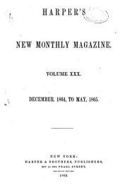 Harper's Magazine: Volume 30