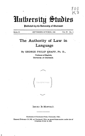The Authority of Law in Language