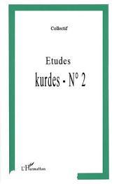 ETUDES KURDES N°2