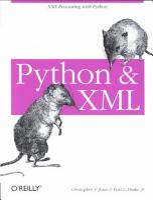 Python and XML PDF