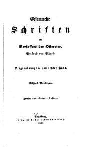 Gesammelte Schriften des Verfassers der Ostereier: Bände 11-12