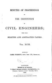 Minutes of Proceedings of the Institution of Civil Engineers: Volume 93