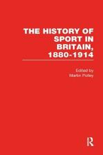 The History of Sport in Britain, 1880-1914: Field sports