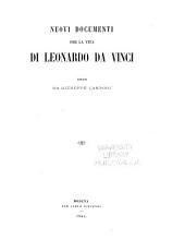 Nuovi documenti per la vita di Leonardo da Vinci