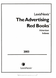 The Advertising Red Books