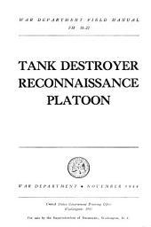 Tank destroyer reconnaissance platoon