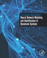 Neural Network Modeling and Identification of Dynamical Systems PDF