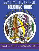 Sagittarius Zodiac Sign - Adult Coloring Book