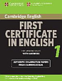 Cambridge First Certificate in English 1. Student's Book with Answers