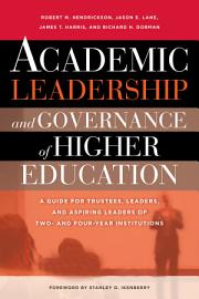 Academic Leadership and Governance of Higher Education PDF