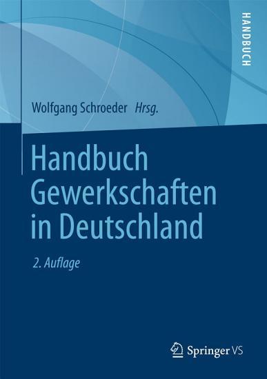 Handbuch Gewerkschaften in Deutschland PDF