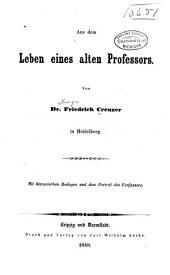 Aus dem Leben eines alten Professors