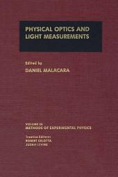 Physical Optics and Light Measurements