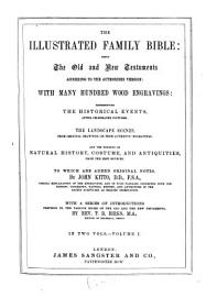 The Illustrated Family Bible Being The Old And New Testaments According To The Authorised Version