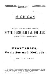 Vegetables: Varieties and Methods