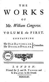 The Works of Mr William Congreve...