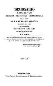Dizionario geografico-storico-statistico-commerciale degli stati del Redi Sardegna (etc.)