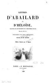 Lettres d'Abailard et d'Héloïse: Volume1