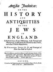 History and Antiquities of the Jews in England