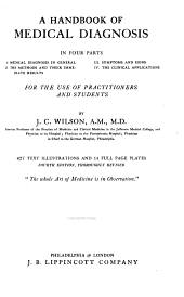 A Handbook of Medical Diagnosis: For the Use of Practitioners and Students