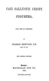 Jugurtha: For Use in Schools