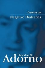 Lectures on Negative Dialectics
