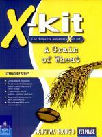 X kit Lit Series Fet a Grain of Wheat PDF