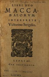 Libri dvo Maccabaeorvm