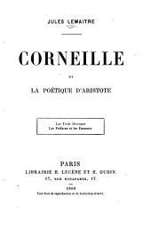 Corneille et la poétique d'Aristote