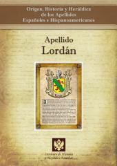 Apellido Lordán: Origen, Historia y heráldica de los Apellidos Españoles e Hispanoamericanos