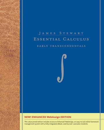 Essential Calculus  Early Transcendentals  Enhanced Edition PDF