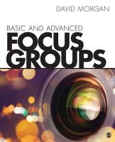 Basic and Advanced Focus Groups PDF