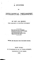 A System of Intellectual Philosophy PDF