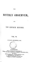 The Monthly observer  and New Church record PDF