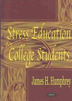 Stress Education for College Students PDF