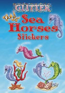 Glitter Sea Horses Stickers