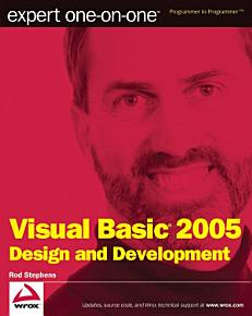 Expert One on One Visual Basic 2005 Design and Development PDF