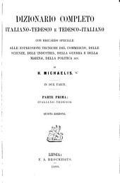 Dizionario completo italiano-tedesco e tedesco-italiano