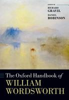 The Oxford Handbook of William Wordsworth PDF