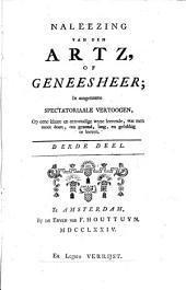 Naleezing van den artz of geneesheer: Volume 3
