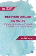 Basic Income Guarantee and Politics