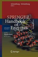 Springer Handbk of Enzymes