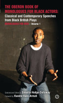 The Oberon Book of Monologues for Black Actors