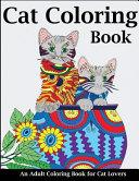 Cat Coloring Book Book