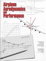 Airplane Aerodynamics and Performance PDF