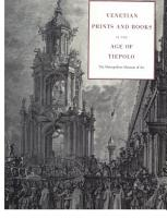 Venetian Prints and Books in the Age of Tiepolo PDF
